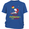 Together Christmas Is A Little Cozier Snoopy Woodstock The Peanuts Movie Shirts-T-shirt-District Youth Shirt-Royal Blue-XS-Itees Global
