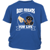 Rottweiler Best Friends For Life Dog Shirts-T-shirt-District Youth Shirt-Royal Blue-XS-Geek Mundo Store