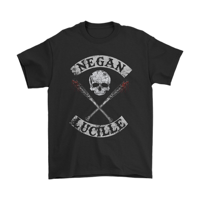 The Walking Dead Negan Lucille Shirts-T-shirt-Gildan Mens T-Shirt-Black-S-Itees Global