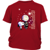 Why Wish On A Star When You Can Pray Shirts-T-shirt-District Youth Shirt-Red-XS-Itees Global