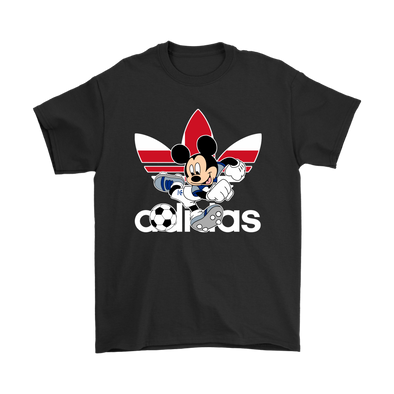 World Cup 2018 England Mickey Mouse Adidas Shirts-T-shirt-Gildan Mens T-Shirt-Black-S-Itees Global