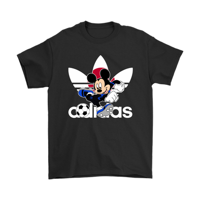 World Cup 2018 Japan Mickey Mouse Adidas Shirts-T-shirt-Gildan Mens T-Shirt-Black-S-Geek Mundo Store