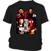 YOU CAN'T SAVE THE WORLD WITHOUT DEADPOOL MARVEL SHIRTS-T-shirt-District Youth Shirt-Black-XS-Itees Global