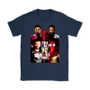 YOU CAN'T SAVE THE WORLD WITHOUT DEADPOOL MARVEL SHIRTS-T-shirt-Gildan Womens T-Shirt-Navy-S-Itees Global