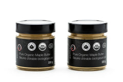 rouGe Pure Organic Maple Butter Duo|Duo de beurre d'érable biologique rouGe