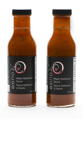 rouGe Maple Barbecue Sauce Twosome|Duo sauce BBQ rouGe