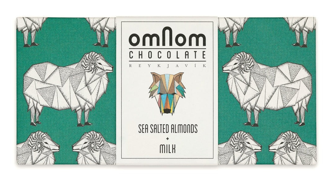 Omnom Chocolate Sea Salted Almonds + Milk