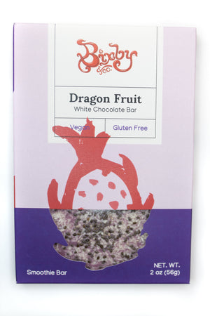 Bixby Dragon Fruit Vegan White Chocolate