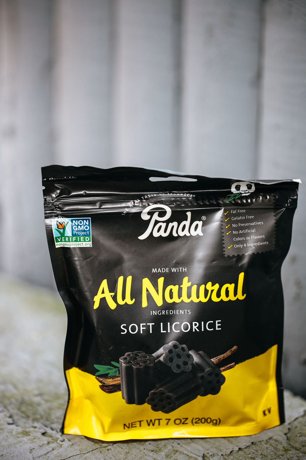 Panda Natural Black Licorice