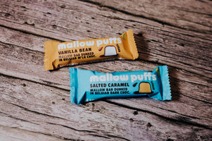 Mallow Puffs: Salted Caramel