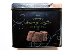 Dream of Sweden Cocoa Powdered Caramel Truffles
