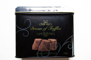 Dream of Sweden Cocoa Powdered Sea Salt Truffles