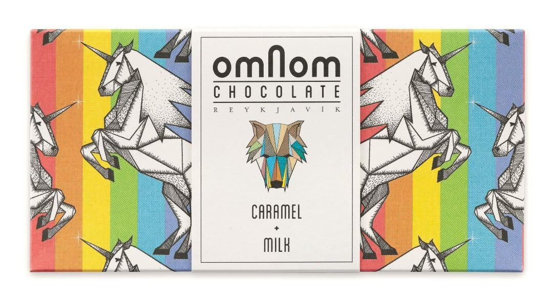Omnom Chocolate Caramel + Milk