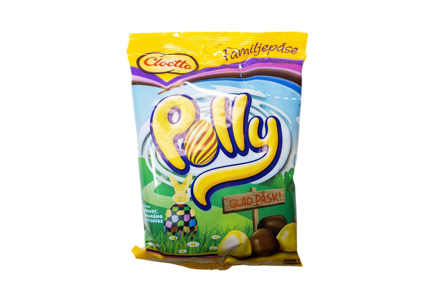 Cloetta Polly Family Size - Glad Pask! (Happy Easter!) 300g