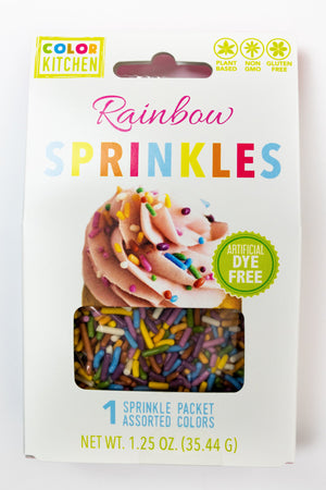 Color Kitchen Rainbow Sprinkles