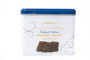 Dream of Scandinavia Cocoa Powdered Raspberry Truffles