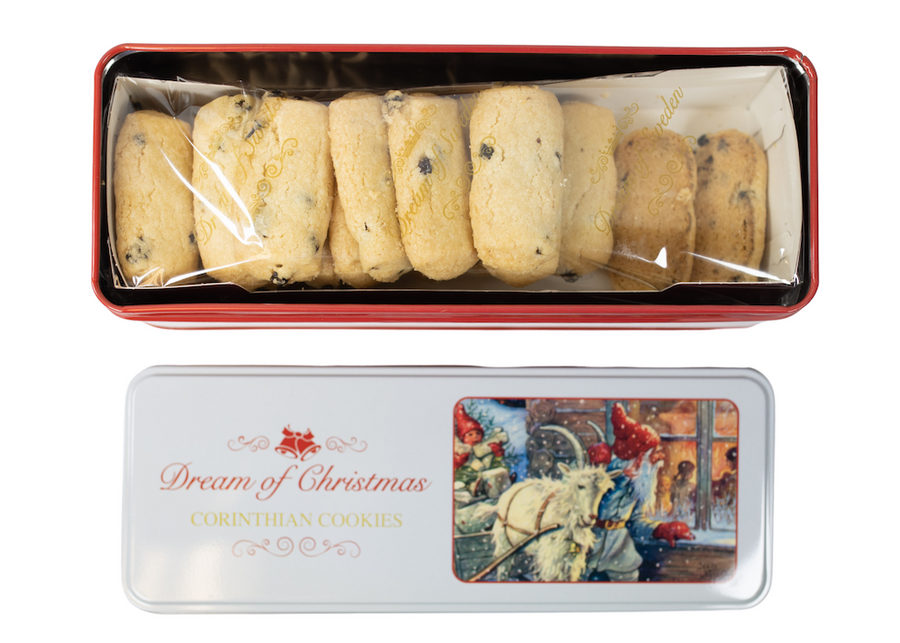 Dream of Christmas Corinthian Cookies