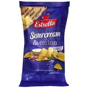 Estrella Sour Cream & Onion Chips 175g Bag