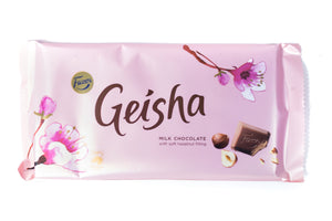 Karl Fazer Geisha Milk Chocolate Bar 121g
