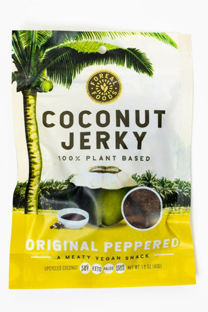 Foreal Foods Coconut Jerky: Original Peppered