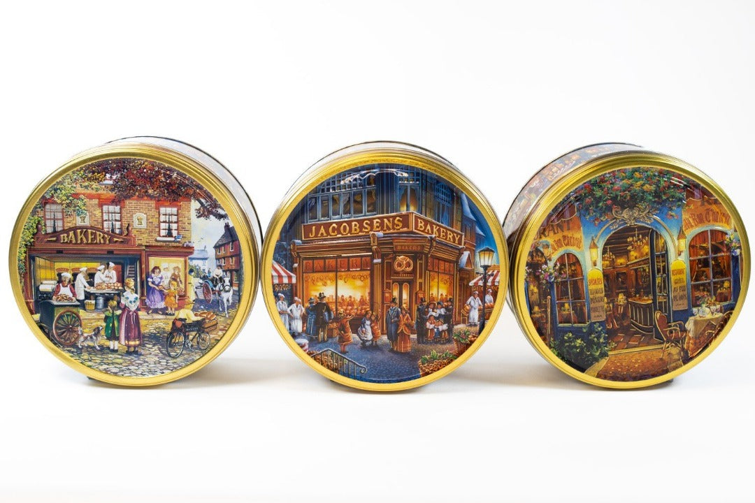 Jacobsens Scenes of Europe Cookie Tin