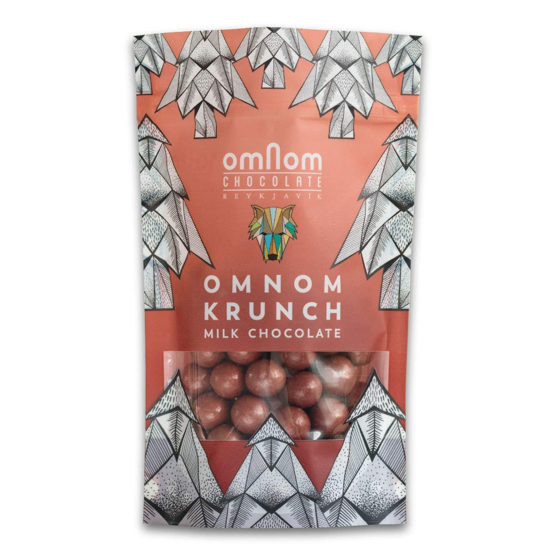 Omnom Crunch Milk Chocolate