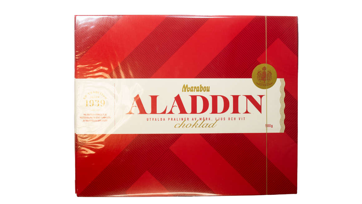 Marabou Aladdin Chocolate Box