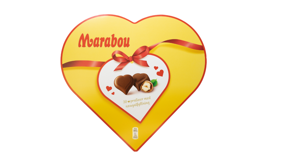 Marabou Chocolate Heart Box