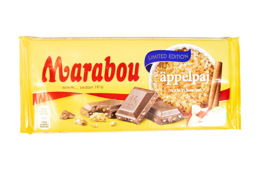 Marabou Apple Pie 185g