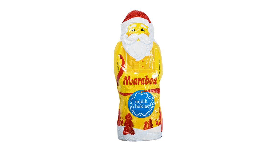 Marabou Milk Chocolate Santa