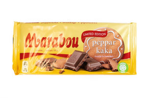 Marabou Pepparkaka Chocolate Bar