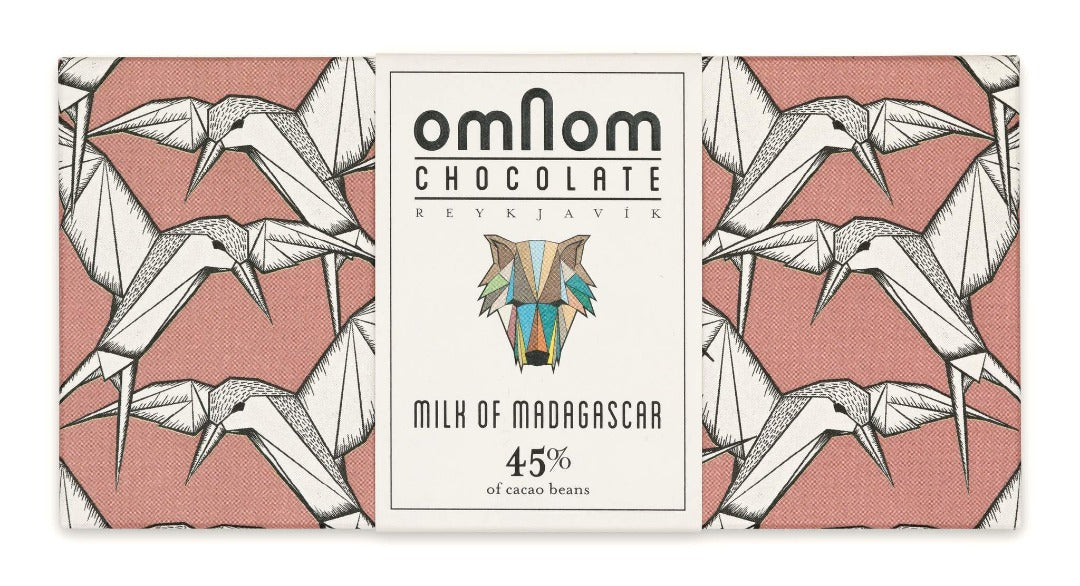 Omnom Milk of Madagascar 45%