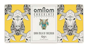 Omnom Chocolate Dark Milk of Tanzania 65%