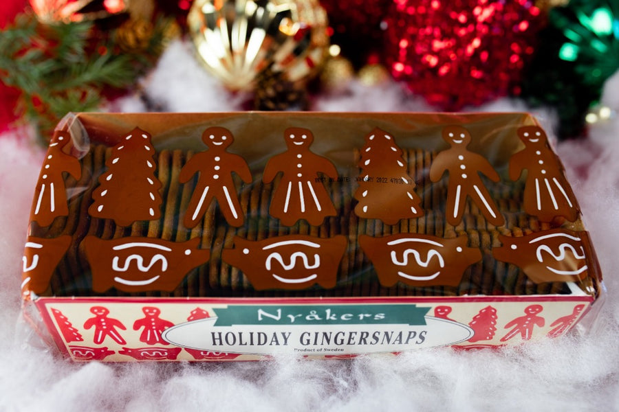 Nyakers Holiday Gingersnaps