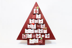 Sweetish Deluxe Advent Calendars- Red