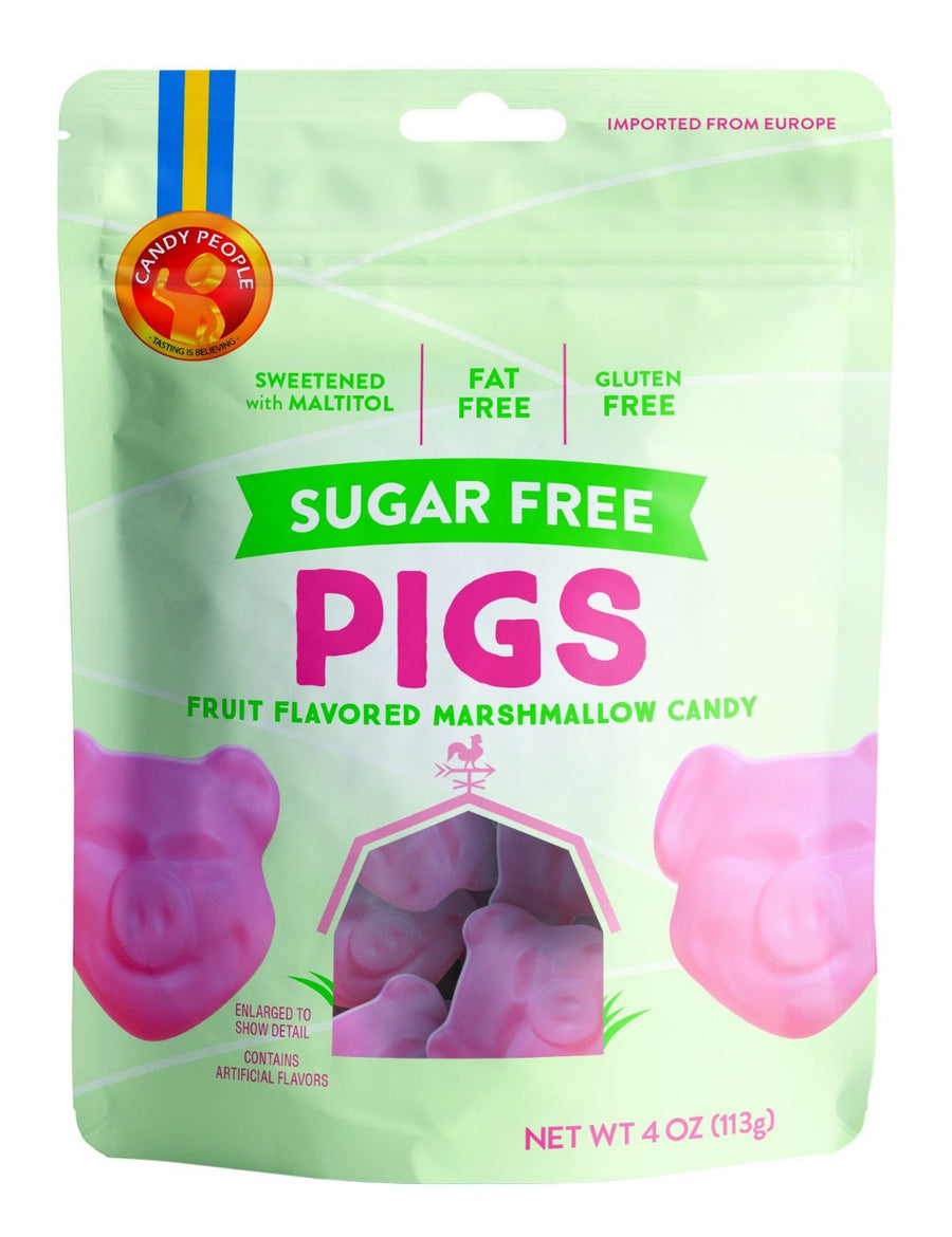 Candy People- Bagged Sugar Free Pigs