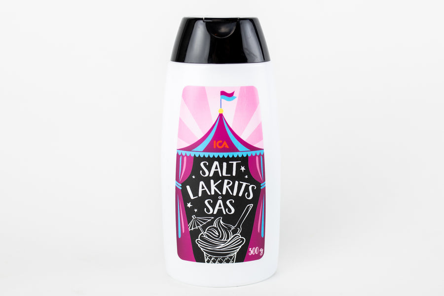 Salt Lakrits Sås (Salt Licorice Sauce)