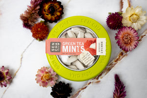 Sen Cha Naturals Green Tea Mints: Morning Lychee