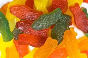 Sockerfri Fruktfiskar (Sugar Free Fruit Fish)