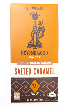 Beyond Good: Salted Caramel 73% Cocoa Bar