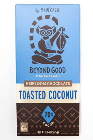 Beyond Good: Toasted Coconut 70% Cocoa Bar