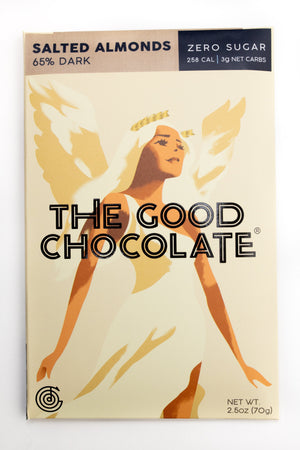 The Good Chocolate: Salted Almonds