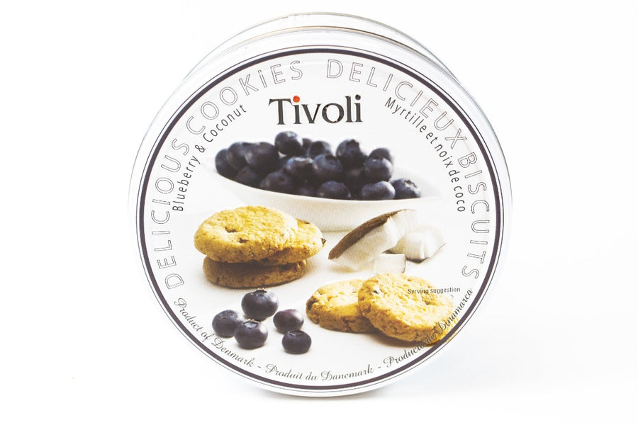 Tivoli Blueberry & Coconut Cookies