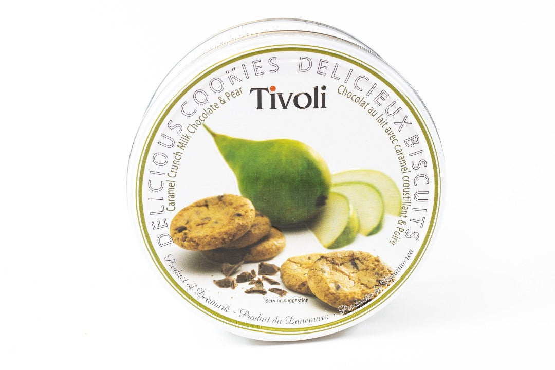 Tivoli Caramel Crunch Milk Chocolate & Pear Cookies