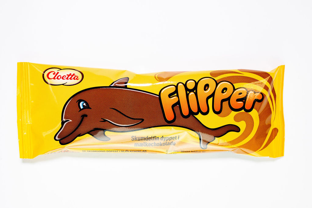 Cloetta Flipper Chocolate Marshmallow Dolphin