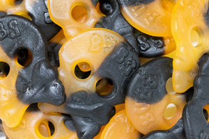 BUBS Halloween Skulls (Fruit and Salt Licorice)