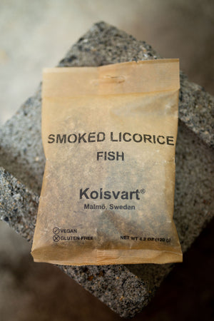 Kolsvart Smoked Licorice Fish