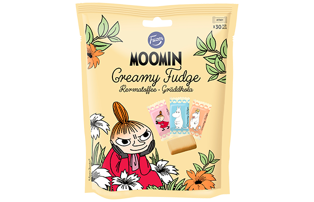 Moomin Cream Toffee 160 g