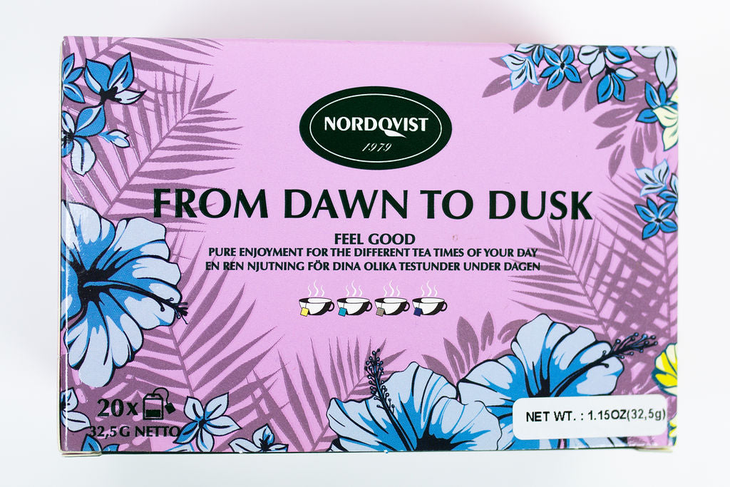 Nordqvist From Dawn To Dusk Four Assorted Tea Bags