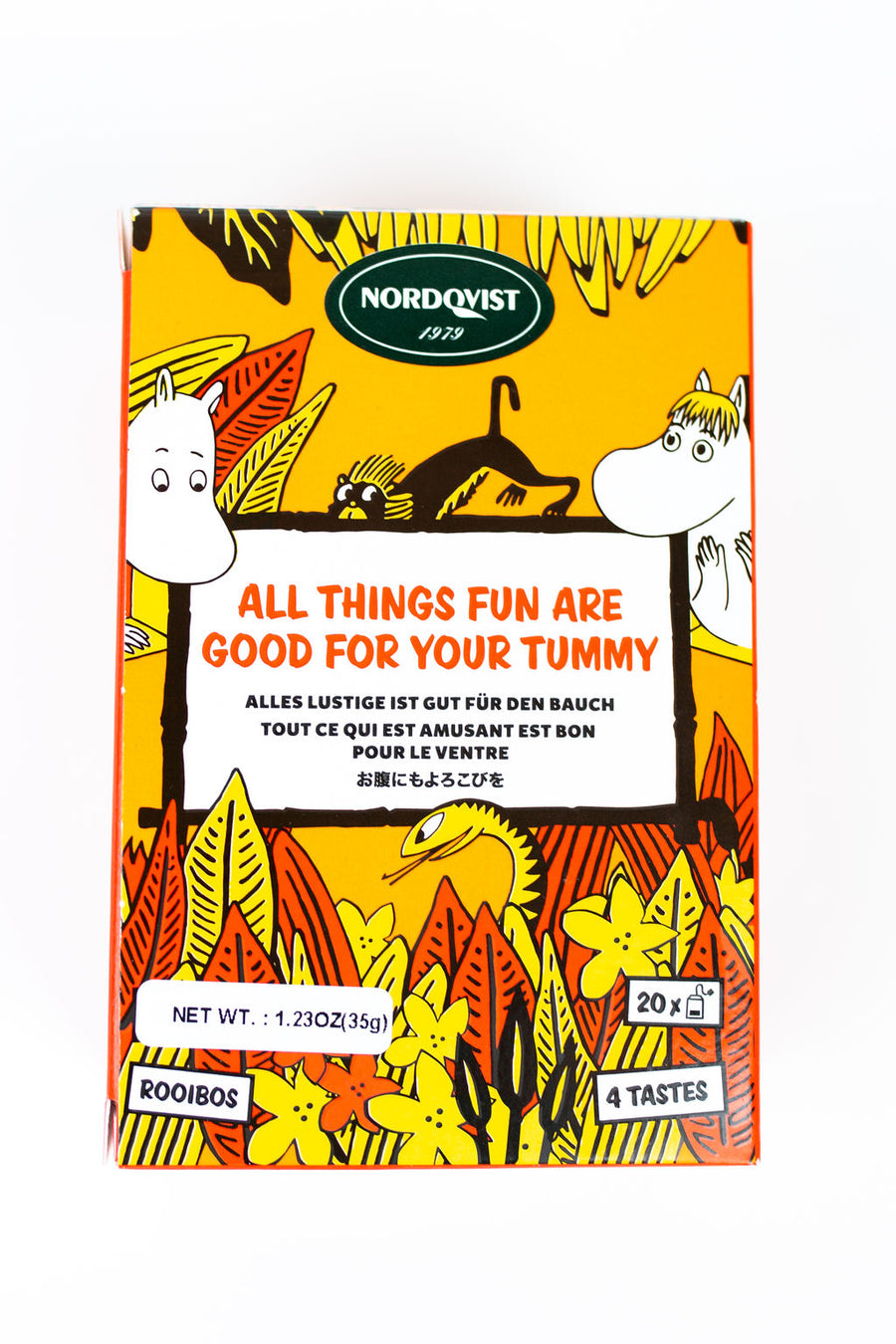 Nordqvist All Things Fun Are Good For Your Tummy Tea
